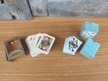 Ancien jeux de carte miniature