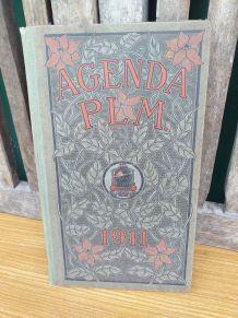 Ancien agenda PLM 1911