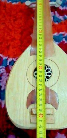 Petit  Luth Instrument Musique Original Fait Main Collection