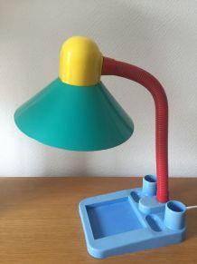Lampe de bureau multicolore