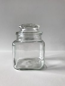 Bonbonnière vintage en verre
