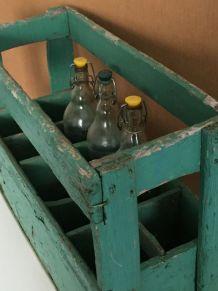 Casier à bouteilles, campagne chic, bistrot