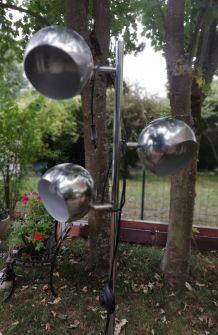 Lampadaire 3 boules vintage