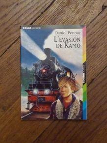 L'Evasion de Kamo- DANIEL PENNAC- Gallimard Jeunesse- Folio