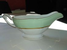saucier porcelaine liseret d'or