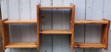 étagères scandinave en bois
