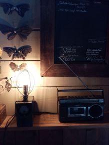 Lampe de table /lampe industrielle/ lampe à poser