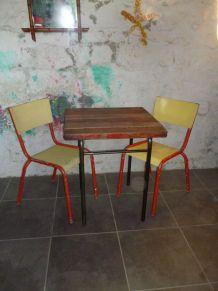 TABLE  DE TERRASSE - JARDIN - VINTAGE