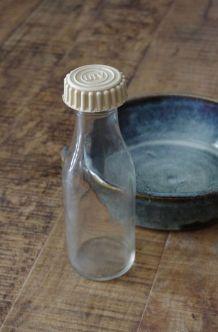 Bouteille verre vintage DIV Made in France