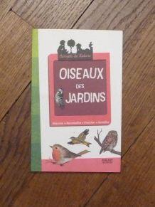 Oiseaux des Jardins- Valerie Tracqui- Milan Jeunesse