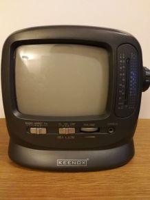 Mini Télé/Radio N&B vintage 90's