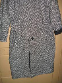 Manteau Longue Mi-Cuisse en Laine Printemps ou l'automne