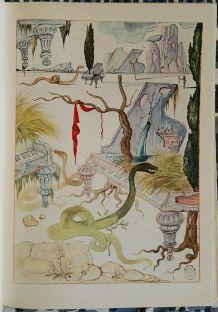 La Maison sans Fenêtres illustré S. Dali Edt Originale n°960