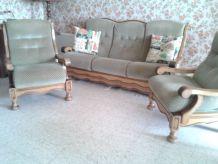 canapé avec 2 fauteuils