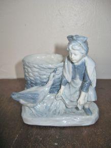 Petit  Figurine  Porcelaine Ancien  Style Royal Copenhagen