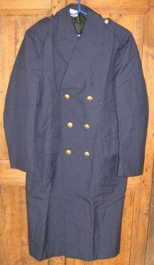 Ancien Manteau Militaire Armée de l'Air Neuf Jamais Porté