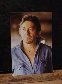 Photographie couleur Gainsbourg 1987