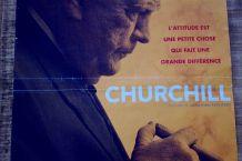 Affiche cinéma film CHURCHILL 2017