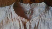 Chemise d'hiver chaude en coton, col mao, T. 12/13 ans Zara
