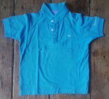 Polo coton turquoise T. 5/6 ans Harmont & Blaine
