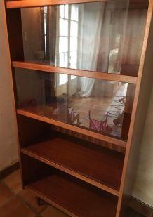 Armoire vitrine vintage