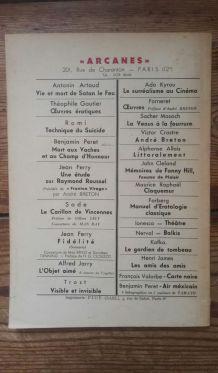 Revue BIZARRE n°1 Hommage à Gaston Leroux & nouvelle inédit