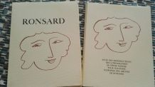 Florilège des Amours de Ronsard illustré Matisse Portfolio