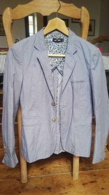 Veste bleue chic en coton pour garçon, Anthony Morato T. 12