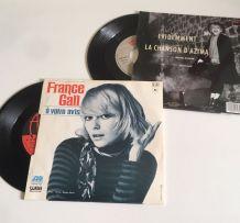France Gall - 2 vinyles 45 t