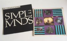 Simple Minds - 2 vinyles 45 t