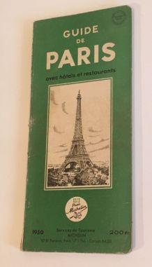 Guide Vert de Paris 1950
