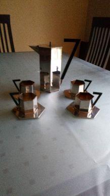 Service à café octogonale NECTAR jacques VABRE