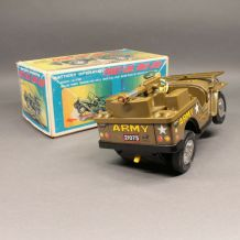 Jouet ancien - Front line army Jeep - Daishin -