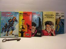 "lot 5 bibliothèque verte ""Michel"" Georges Bayard"