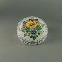 Jolie bonbonnière en porcelaine de Delft