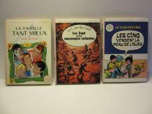 lot 3 bibliothèque rose d'Enid Blyton