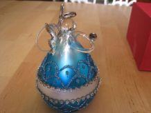 1 ange boule noël décoration du sapin hauteur 11 cm