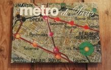 Métro de Paris, Collectif - Éditions Hachette 1969
