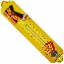 Thermomètre publicitaire émaillé bouillon Kub