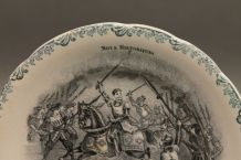 assiette ancienne mots historiques 7 - terre de fer