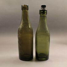 Lot de 2 bouteilles d'eau ww1