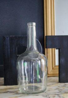Bonbonne verre transparent