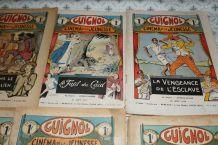 lot de 6 Guignols 1931-1932-1934