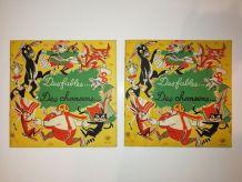 Des Fables et Des Chansons livres-disques vinyle 33T Vintage