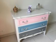 Commode en chataignier