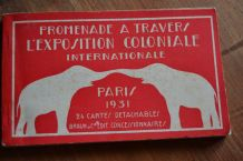 Carnet de 24 Cartes Postales Détachables Promenade à Travers