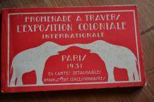 Carnet de 24 Cartes Postales Détachables Promenade à Travers