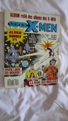 Super X-men album double N° 4 - 1986