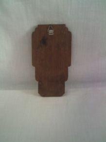 Bénitier en bois  vintage