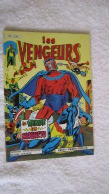 Les vengeurs (Série 3) N° 1 La venue de Magneto - 1984